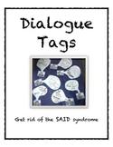 Dialogue Tags
