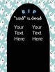 "Dialogue Tags - ""said"" is dead Halloween- common core tier 2 vocab- editable"