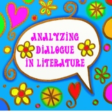 Dialogue Task Card Activity For the Upper Elementary and Middle School Classroom
