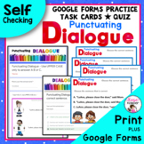 Dialogue Task Cards Plus Free Bonus Worksheet