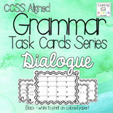 Dialogue Task Cards - for Roam the Room or Centers!