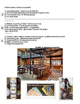 Dialogue: Una Visita al Restaurante Argentino