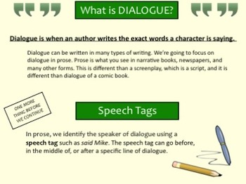 Dialogue: What You Need to Know