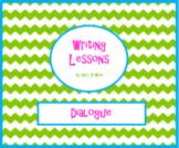 Dialogue Worksheet Using Pixar Short Films