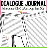 Dialogue Journals - Writing Templates