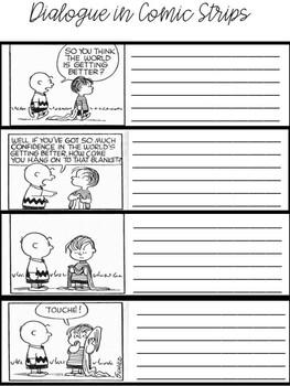 Dialogue in Comics