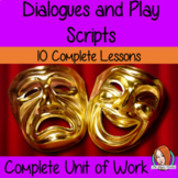 Play Scripts Complete Unit of Lessons