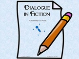 Dialouge in Fiction - PowerPoint 2003 & 2007 + PDF