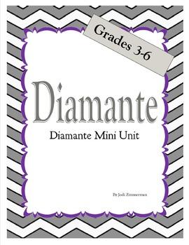 Diamante Poetry Mini Unit