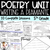 Writing a Diamante Poem - Poetry Writing Unit with Figurat