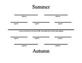 Diamante Poem Handout (Autumn)