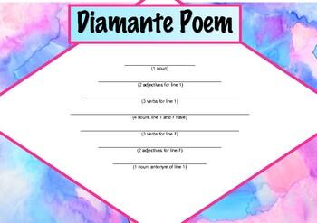 Diamante Poem - poetry