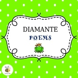 Diamante Poems - A PowerPoint for grades 2-4