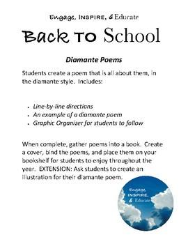 Diamante Poems - FREEBIE