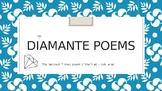 Diamante Poems PowerPoint