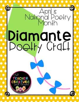Diamante Poetry Craftivity