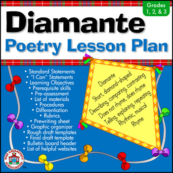 Diamante Poetry Lesson Plan