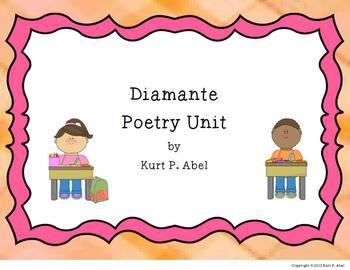 Diamante Poetry Unit