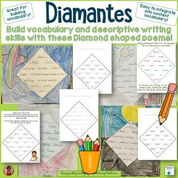 Diamantes: Diamond Shaped Poetry
