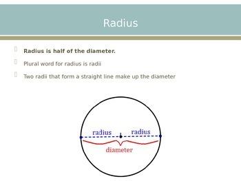 Diameter and Radius PowerPoint