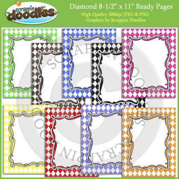 Diamond 8 1/2 x 11 Ready Pages