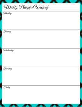 Diamond Blue Personal Calendar / Organizer 2017-18