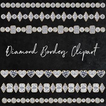 Diamond Borders Clipart