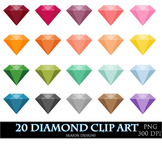 Diamond Clipart Clip Art Wedding Love Gemstones Gems Engagement