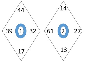 Adding 4 Two Digit Addends with Regrouping 5 Centers & 5 Worksheets