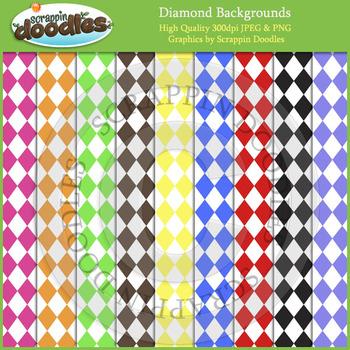 Diamond Backgrounds