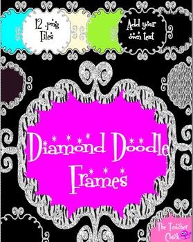 Diamond Doodle Frames