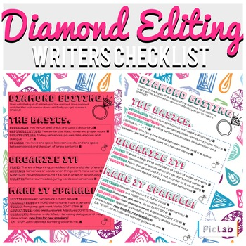 Diamond Editing- Editing & Revising Checklist