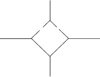 Diamond Four Square Organizer