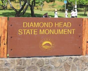 Diamond Head Hawaii Digital Photos