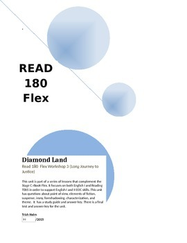 Diamond Land- Read 180 rBook Flex (Workshop 3) English1 Supplement