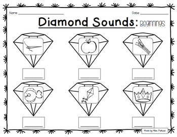 **Diamond** Literacy Activities - THE BUNDLE!