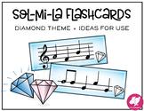 Sol-Mi-La Flashcards + Ideas for Games - Diamond Theme