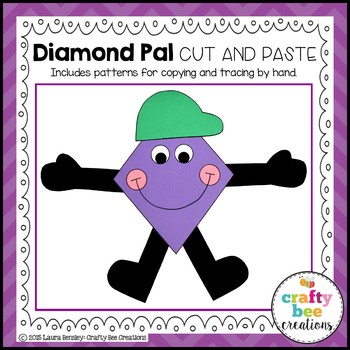 Diamond Pal Cut and Paste