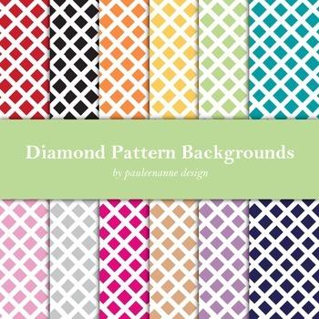Diamond Pattern Background Package
