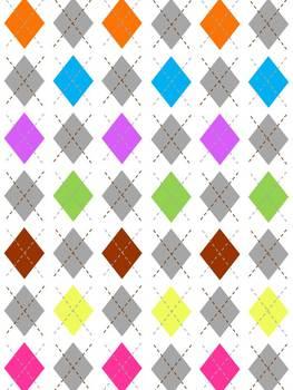 Diamond Plaid Backgrounds