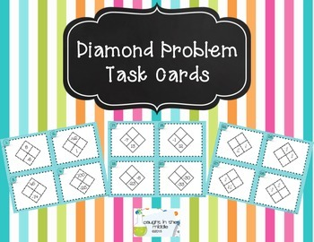 Diamond Problem Task Cards