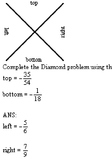 Diamond Problems - Fractions Examview Test Bank
