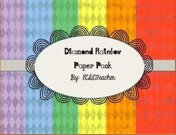 Diamond Rainbow Paper Pack