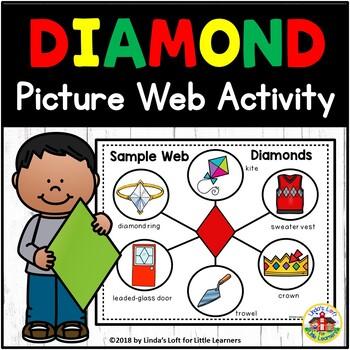 Printable Diamond Shape For Kids