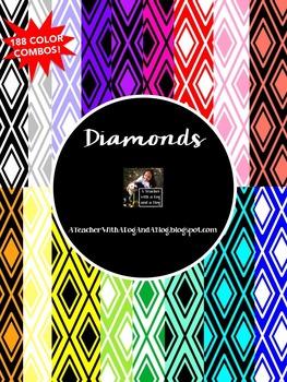 Diamonds Backgrounds