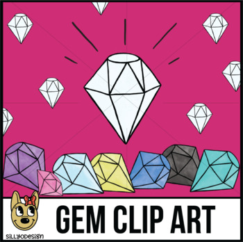 Diamonds, Gems, Jewels, Clip Art