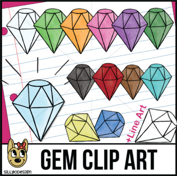 Diamonds, Gems, Jewels, Clip Art