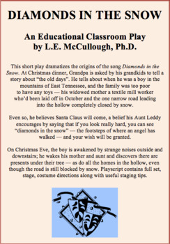 Diamonds in the Snow (A Christmas Play)