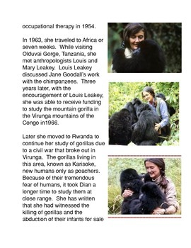 Dian Fossey and the Gorillas