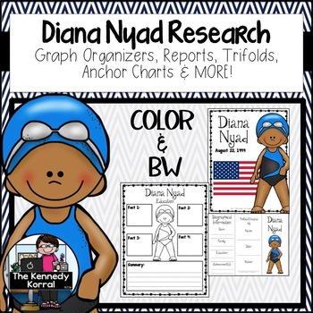 Diana Nyad Research Report Bundle